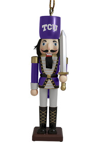 TCU Horned Frogs Nutcracker Ornament