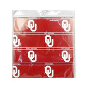 Oklahoma Sooners Red Stripe Wrapping Paper