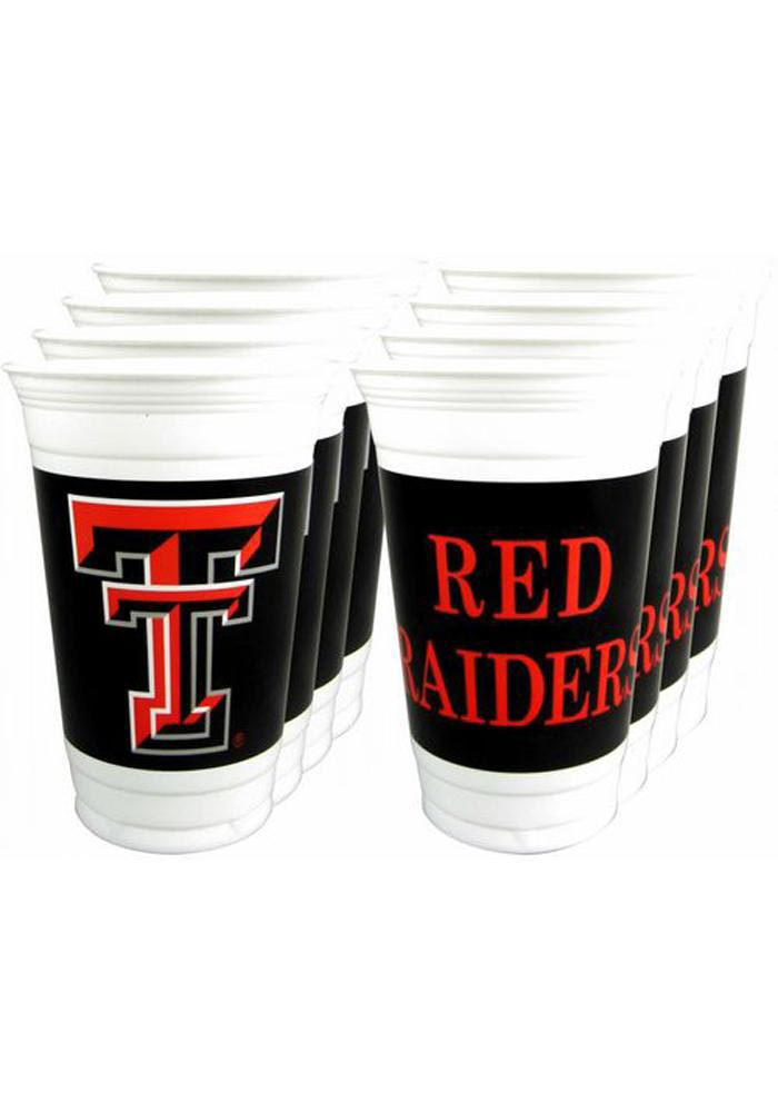 Texas Tech Red Raiders 8pk 20oz Disposable Cups 1569028