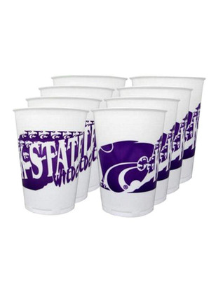 K-State Wildcats 8pk 16oz Disposable Cups