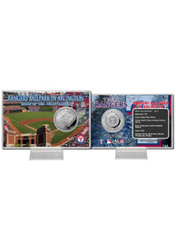 Texas Rangers Ballpark Card Collectible Coin