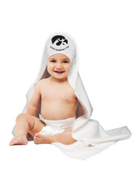 Iowa Hawkeyes Baby Hooded Bath Towel Bath Accessory - White