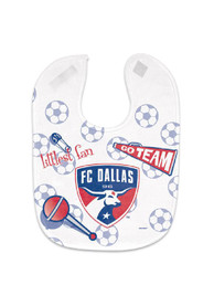 FC Dallas Baby Mesh Bib - White