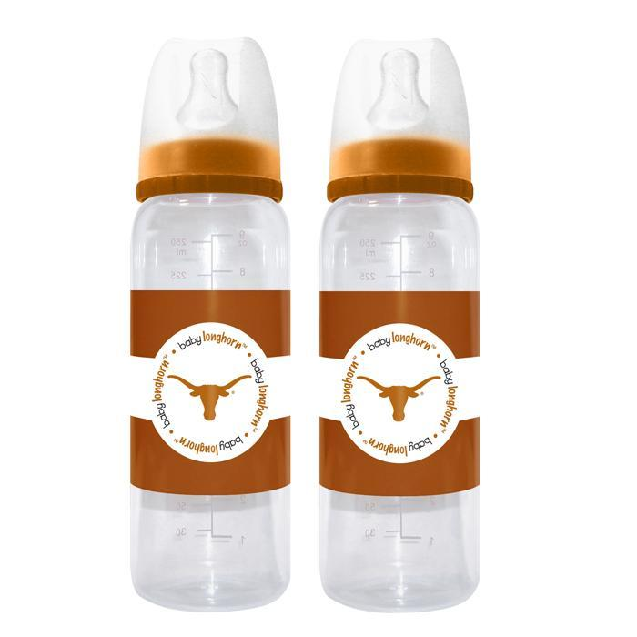 Texas Longhorns 2 Pack Baby Bottle - Image 1