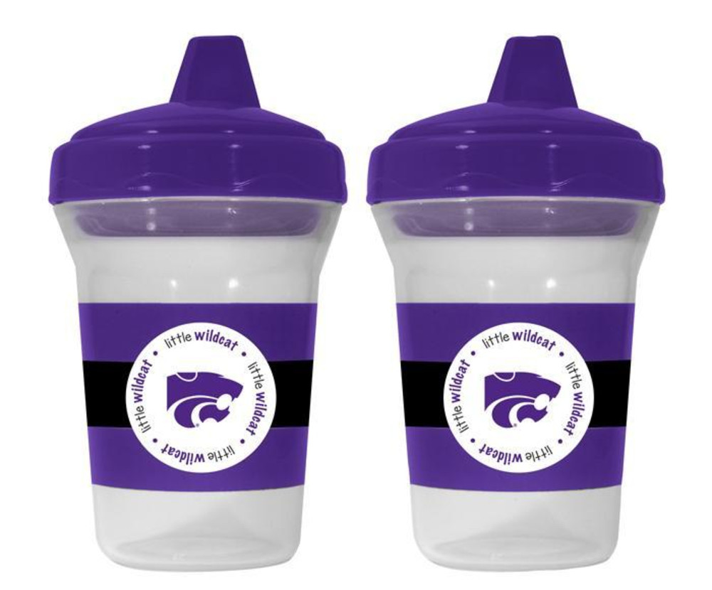 K-State Wildcats 2-Pack 5 oz. Baby Bottle - Image 1