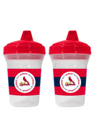 St Louis Cardinals Baby 2 Pack 5 oz. Bottle - Red