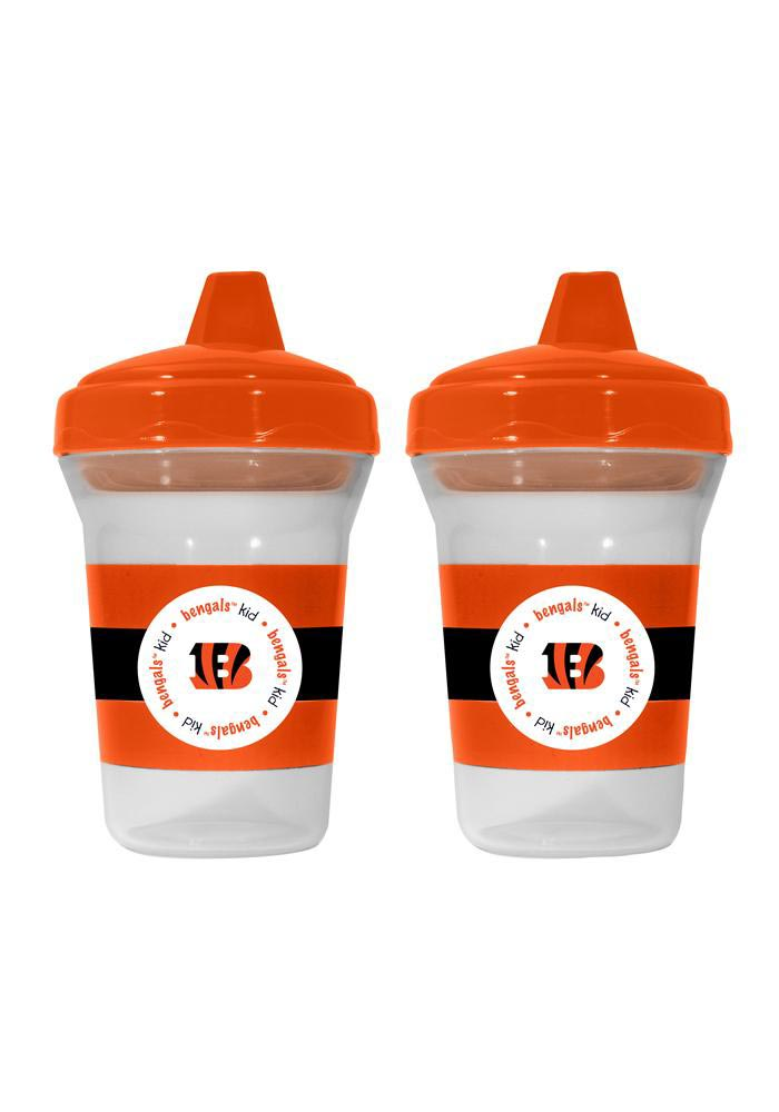 Cincinnati Bengals 2 Pack 5 oz. Baby Bottle - Image 1