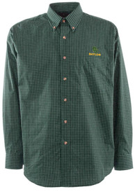 Baylor Bears Antigua Esteem Dress Shirt - Green