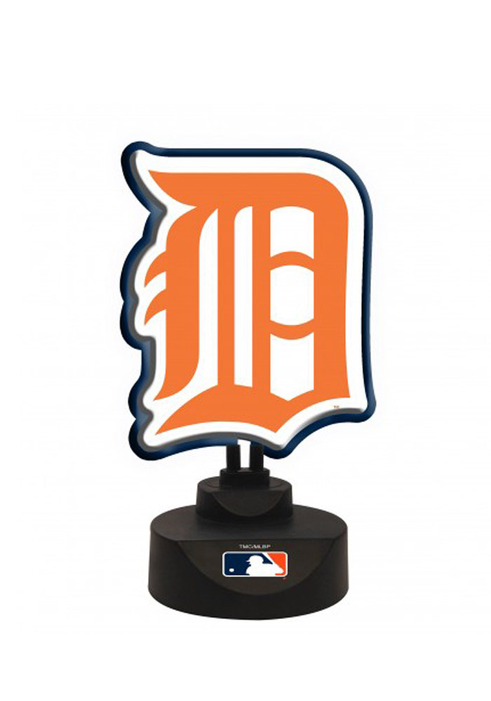 Detroit Tigers Team Logo Neon Sign - Image 1