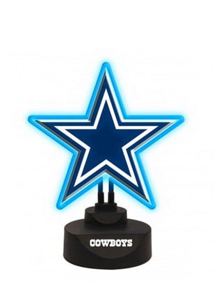 Dallas Cowboys Team Logo Neon Sign
