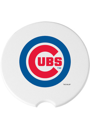 Chicago Cubs 2 Pack Auto Car Coaster