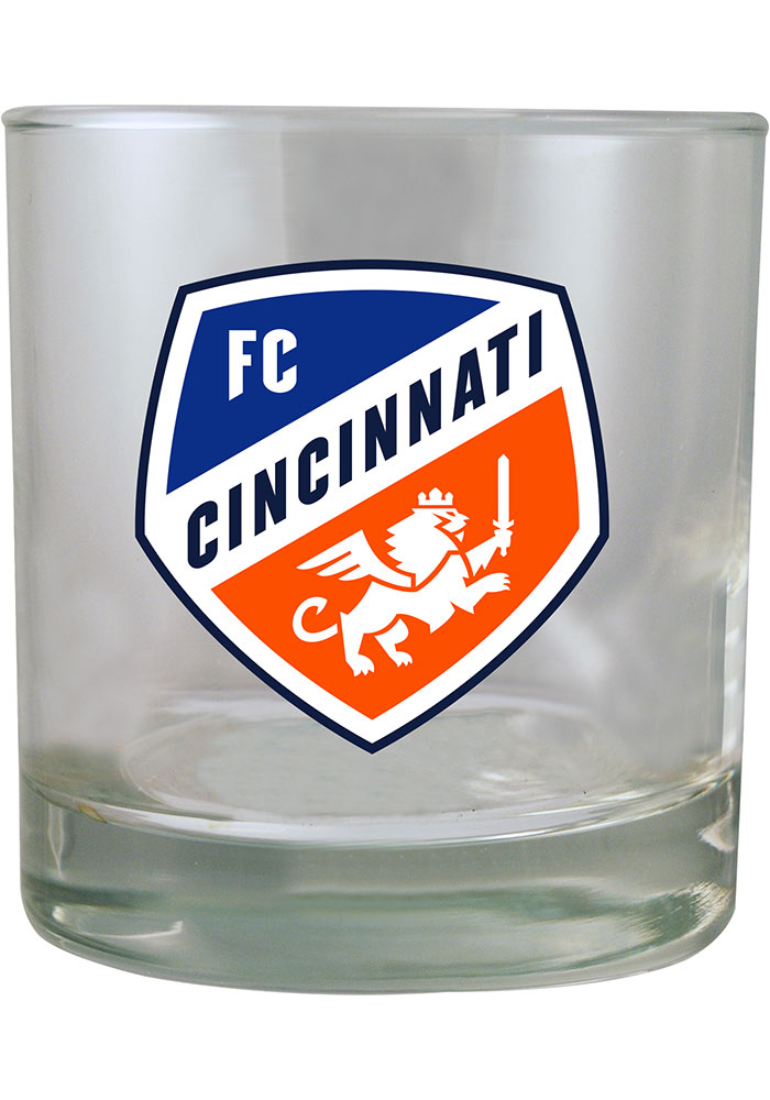 FC Cincinnati 8.45oz Rock Glass - Image 1
