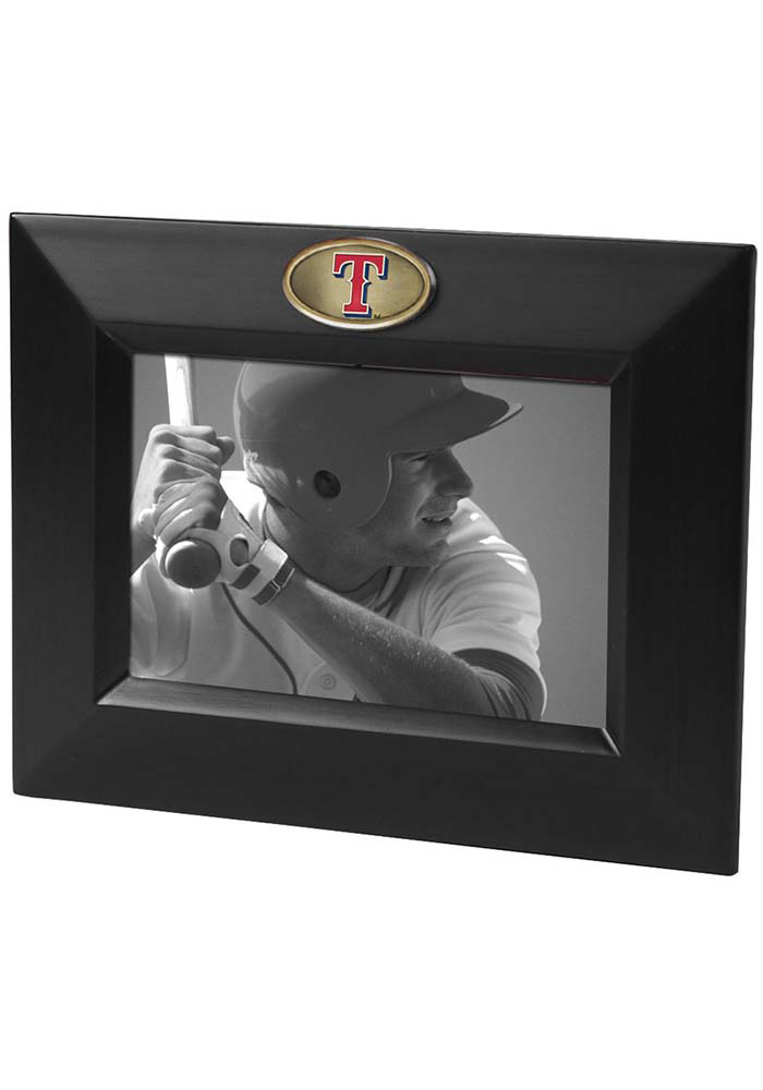 Texas Rangers 8x10 Wooden Horizontal Picture Frame - Image 1