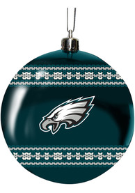 Philadelphia Eagles 3 Ugly Sweater Ball Ornament
