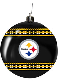 Pittsburgh Steelers 3 Ugly Sweater Ball Ornament