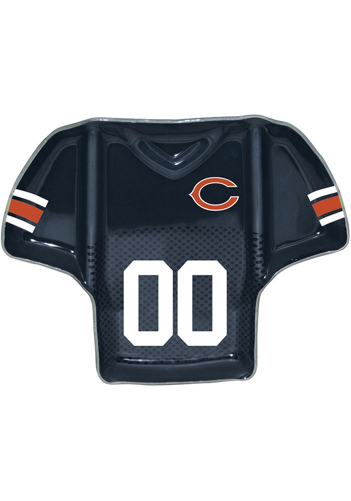 Chicago Bears Jersey Chip Dip Serving Tray - Image 1