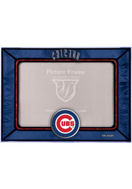 Chicago Cubs 6.5x9 inch Horizontal Art Glass Picture Frame
