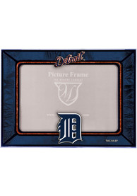Detroit Tigers 6.5x9 inch Horizontal Art Glass Picture Frame