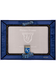 Kansas City Royals 6.5x9 inch Horizontal Art Glass Picture Frame