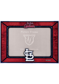 St Louis Cardinals 6.5x9 inch Horizontal Art Glass Picture Frame