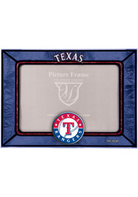 Texas Rangers 6.5x9 inch Horizontal Art Glass Picture Frame