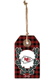 Kansas City Chiefs Gift Tag Ornament