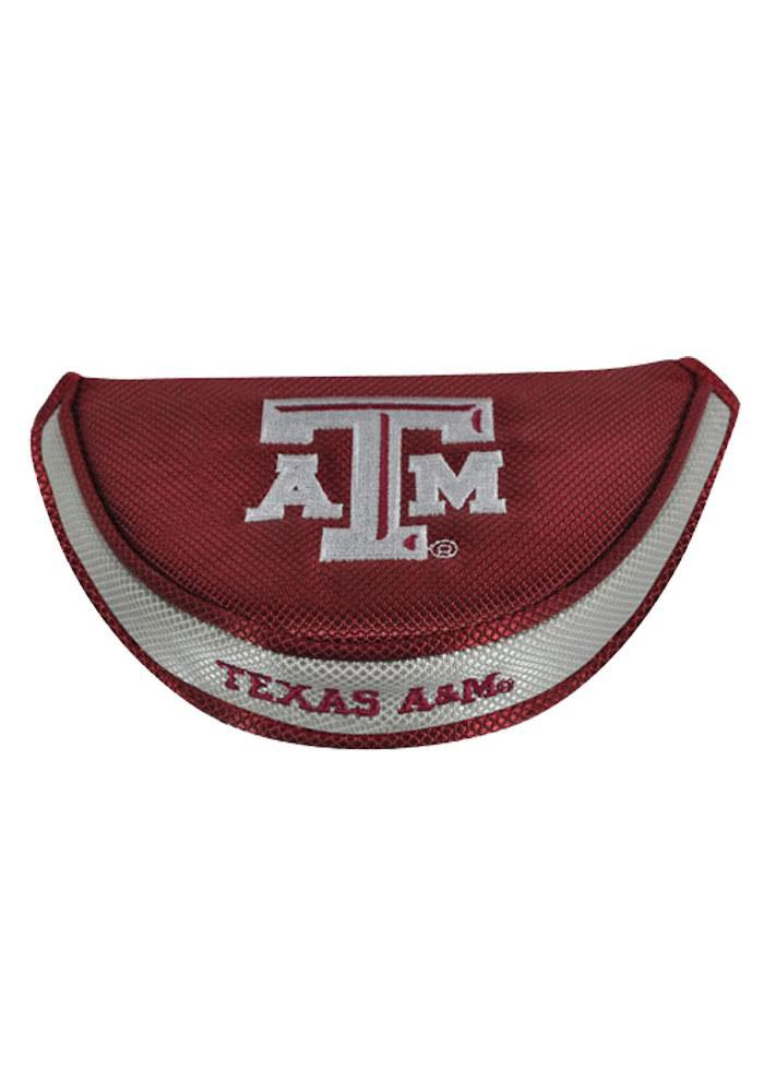 Texas A&M Aggies Maroon Mallet Putter Cover - Image 1