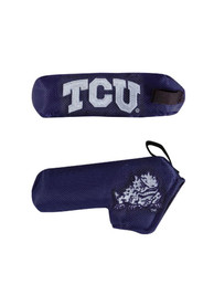 TCU Horned Frogs Blade Putter Cover