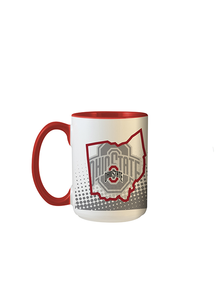Ohio State Buckeyes State of Mind Mug - Image 1