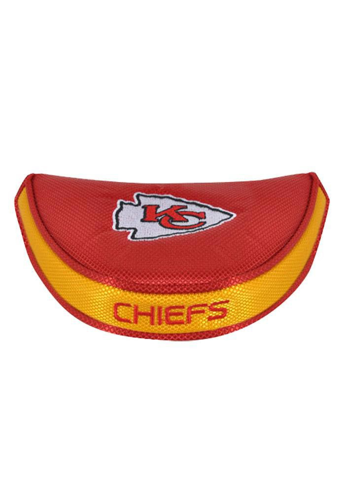 Kansas City Chiefs Red Red Mallet Putter Cover - Image 1