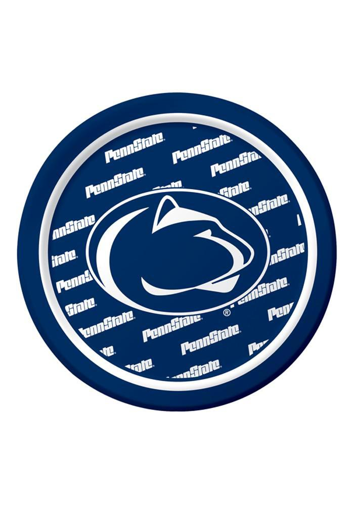 Penn State Nittany Lions 7 Inch 8 Pack Paper Plates - Image 1