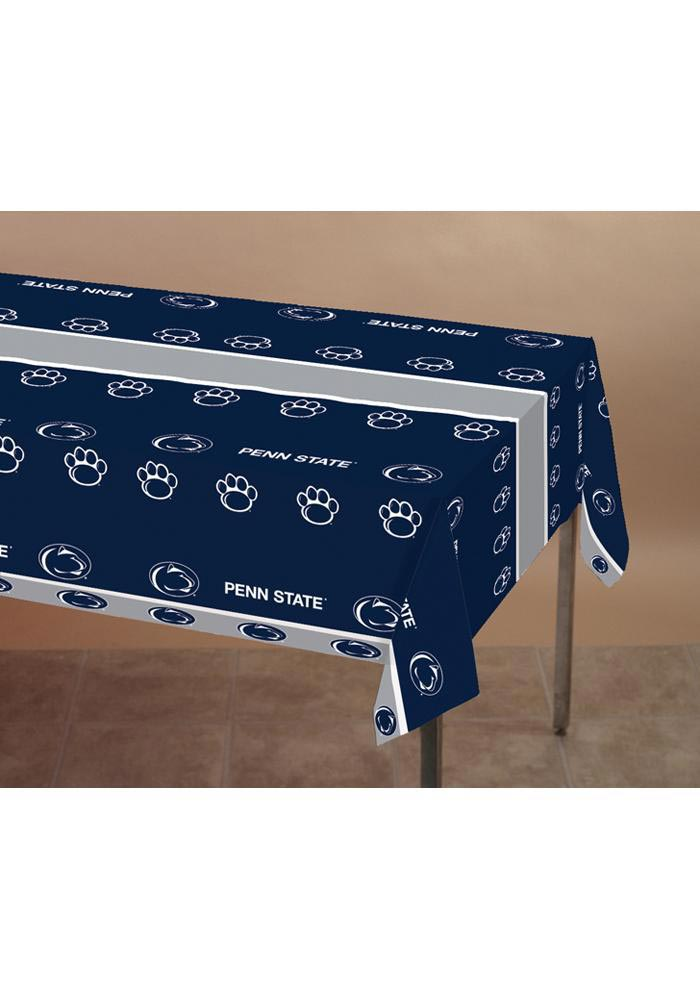 Penn State Nittany Lions Plastic Tablecloth - Image 1