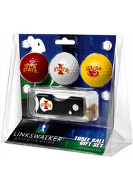 Iowa State Cyclones Spring Action Divot Tool Golf Gift Set