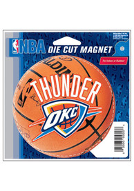 Oklahoma City Thunder Team Logo Magnet