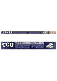 TCU Horned Frogs 6 Pack Pencil