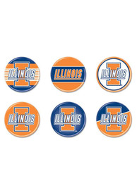 Illinois Fighting Illini BUTTONS Button