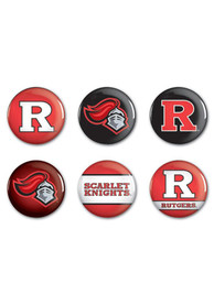 Rutgers Scarlet Knights BUTTONS Button