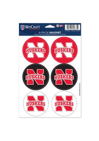 Nebraska Cornhuskers MAGNETS Magnet