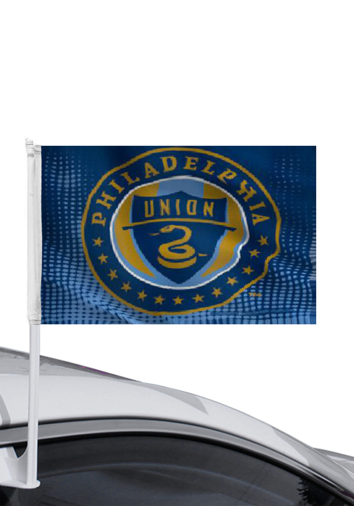 Philadelphia Union 12x14 Blue Polyester Car Flag - Image 1