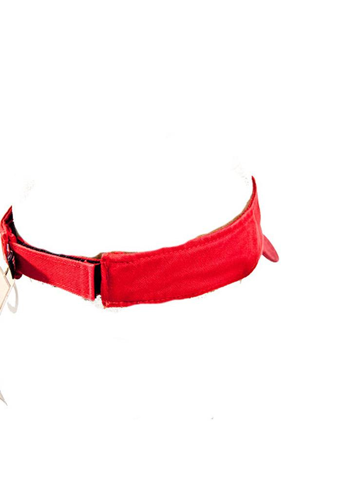 '47 Texas Tech Red Raiders Mens Red Clean Up Adjustable Visor - Image 3