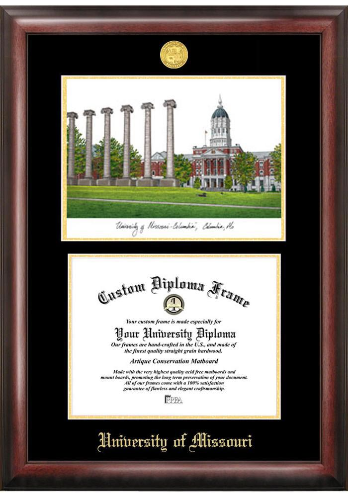 Missouri Tigers Diploma Picture Frame - Image 2