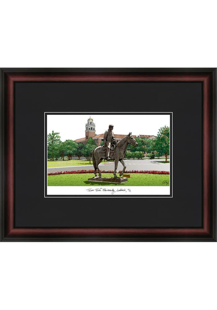 Texas Tech Red Raiders 18X14 Campus Framed Posters - Image 1