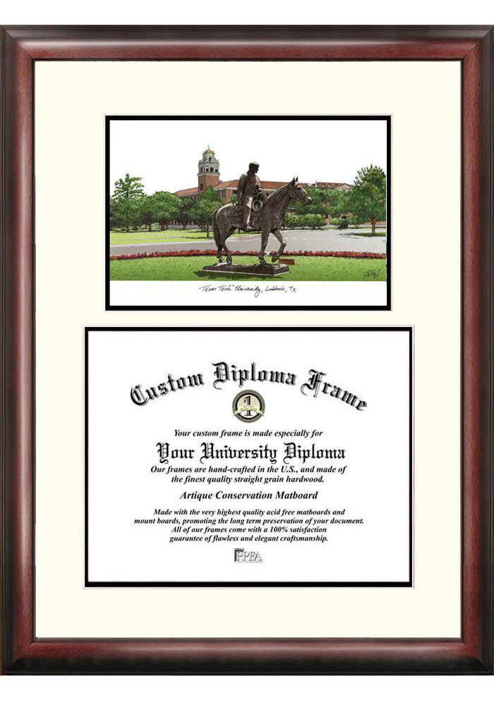Texas Tech Red Raiders Diploma Picture Frame - Image 1