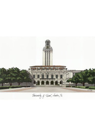 Texas Longhorns 14x10 Campus Print Wall Art