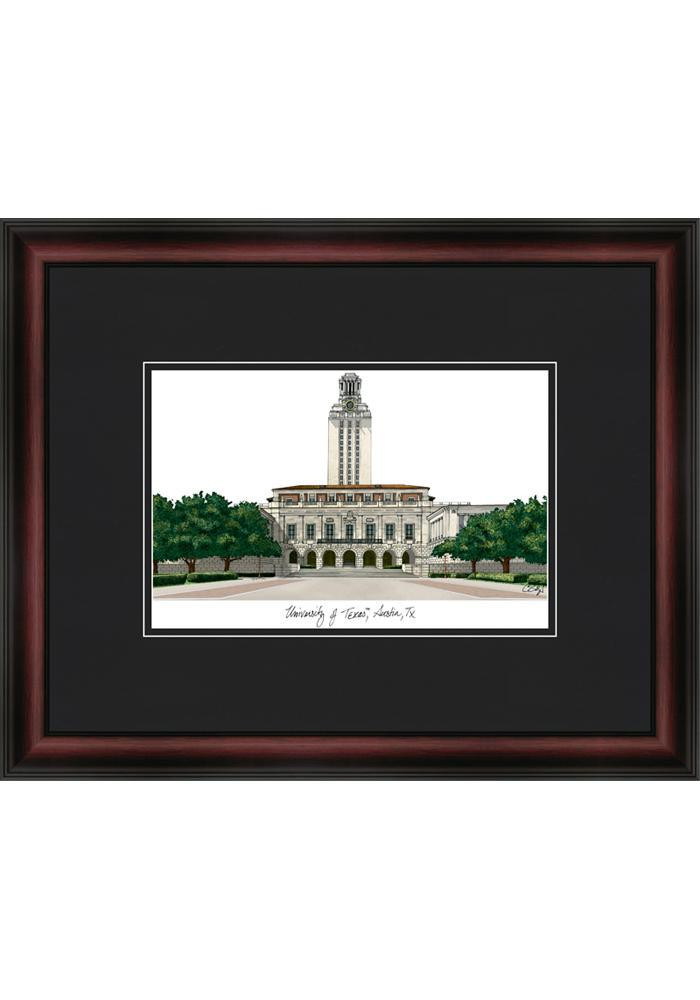 Texas Longhorns 18X14 Campus Framed Posters - Image 1