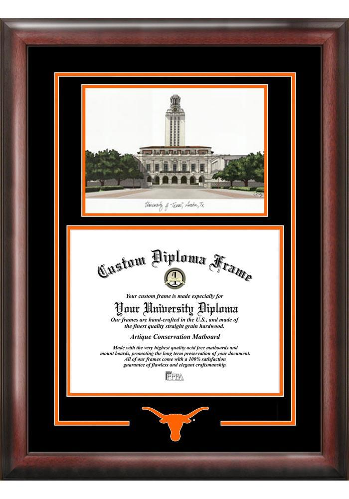 Texas Longhorns Diploma Picture Frame - 7494049