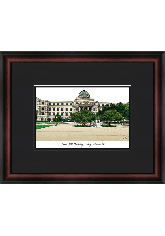 Texas A&M Aggies Campus Print Framed Posters - Image 2