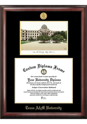 Texas A Amp M Aggies Diploma Picture Frame 7494055