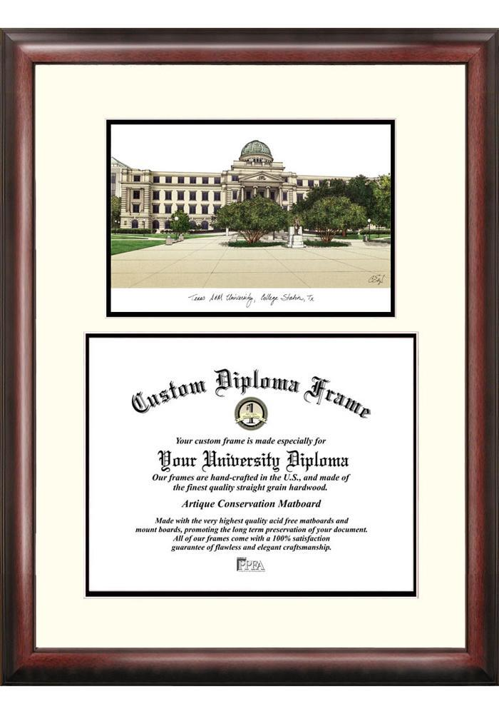 Texas A&M Aggies Diploma Picture Frame - Image 1
