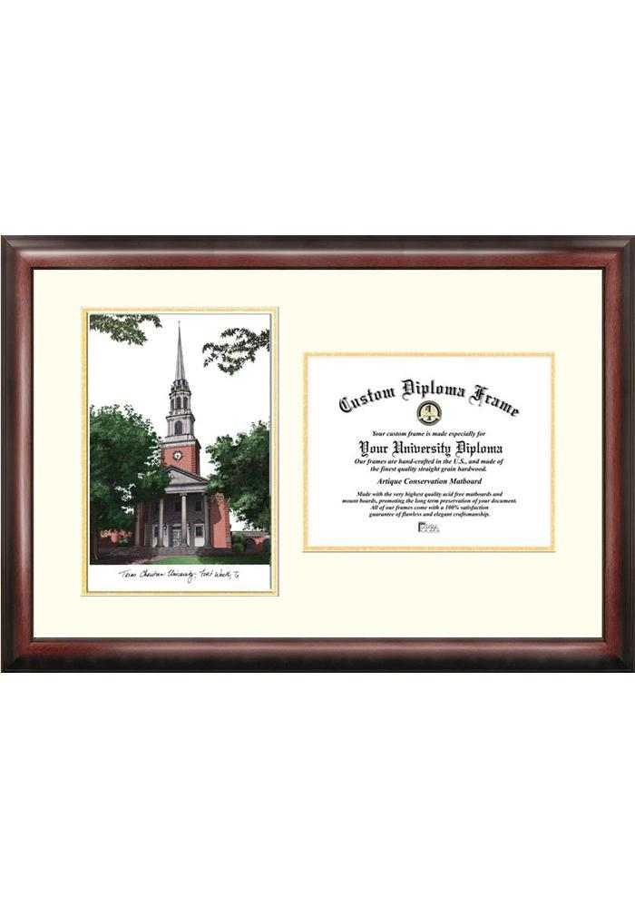 TCU Horned Frogs Diploma Picture Frame - Image 1